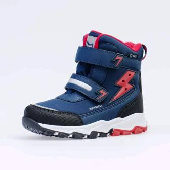 КОТОФЕЙ  454835-43 син-кра ботинки дошкольные Комбинирован., 27-31 (поступление 25.09.2020г.) цена 3200руб.