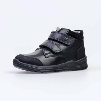 КОТОФЕЙ 552225-31 черный ботинки дошкольно-школьные Нат. кожа, 30-35 (поступление 05.03.2021г.) цена 3500руб.