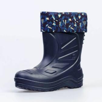 КОТОФЕЙ 565003-11 синий сапоги дошкольно-школьные ЭВА (поступление 01.04.2021г.) цена 1150руб.