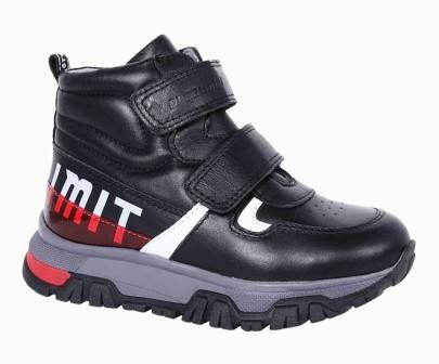 KAPIKA Ботинки (черный) р.31-35 артикул  53435ут-1 (поступление 06.09.2021г.) цена 4100руб.